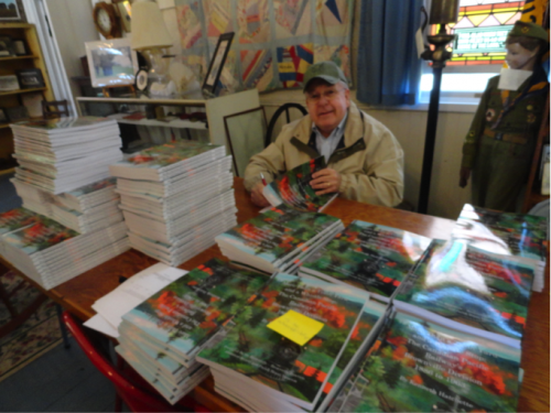 Hatchette signing each of his newly published books